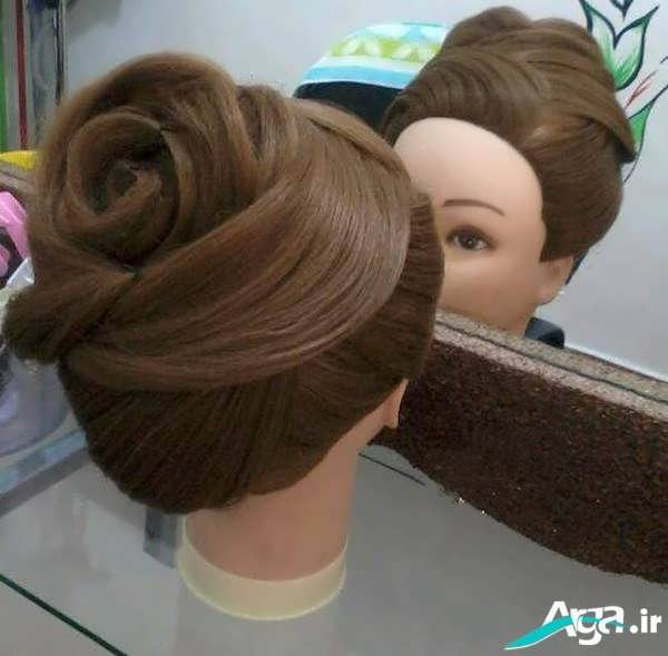 مدل آرایش جذاب مو