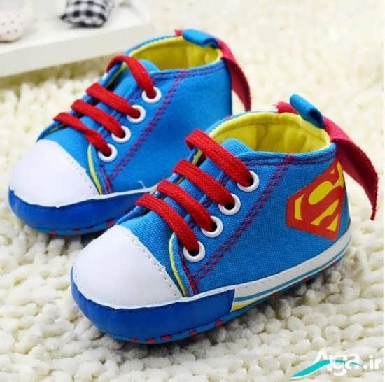 انواع مدل های کفش پسرانه بچه گانه