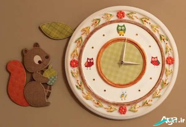 ساخت ساعت کودکانه