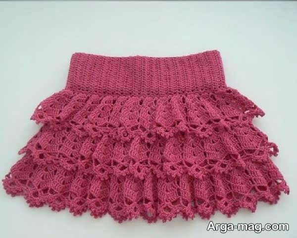 لباس قلاب بافی دوست داشتنی بچگانه