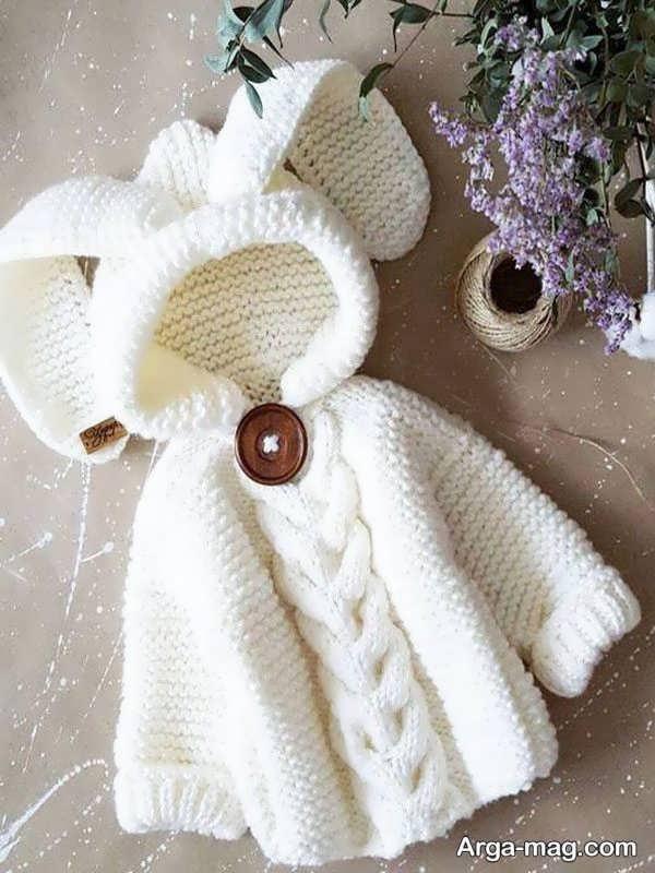 لباس قلاب بافی بچگانه با طراحی به روز