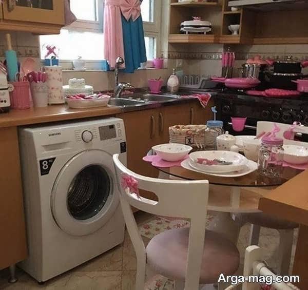 دیزاین وسایل آشپزخانه عروس با ایده فوق العاده
