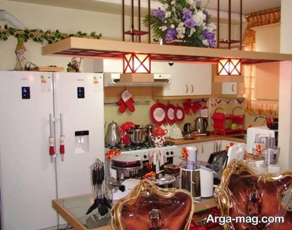 دیزاین وسایل آشپزخانه عروس با ایده جالب