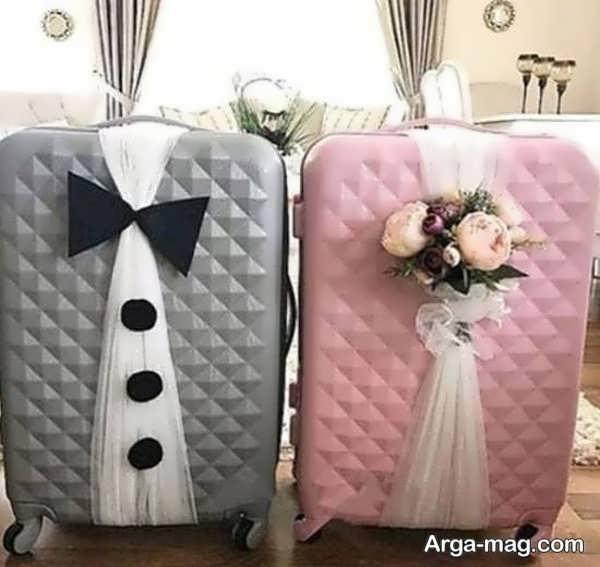 جدیدترین تزیین چمدان عروس