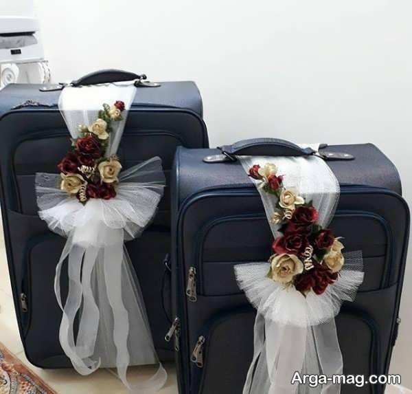مدل زیبای دیزاین چمدان عروس و داماد