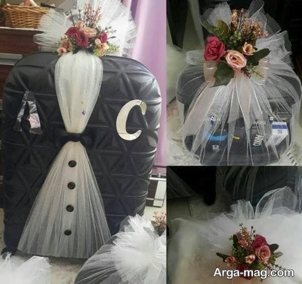 مدل جدید دیزاین چمدان عروس و داماد