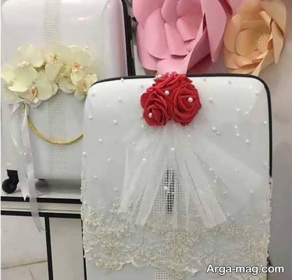 قشنگ ترین تزیین چمدان عروس