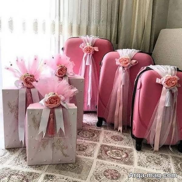 تزیینات جدید چمدان عروس و داماد