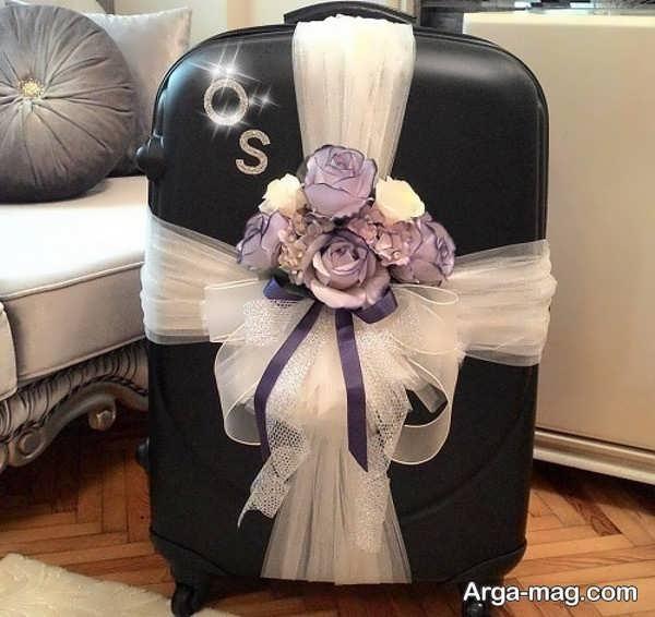 مدل تماشایی دیزاین چمدان عروس و داماد