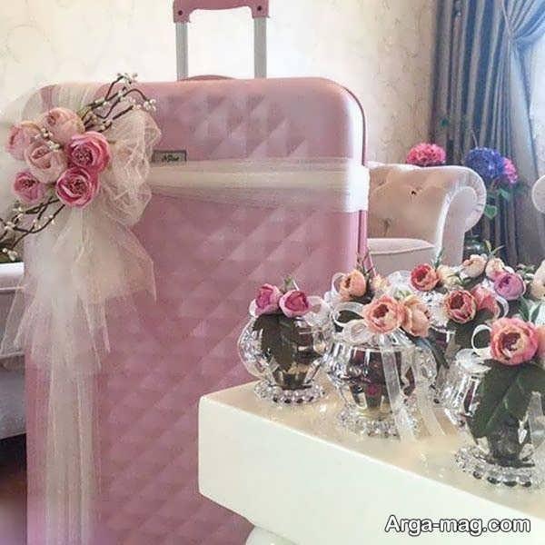 مدل جذاب دیزاین چمدان عروس و داماد