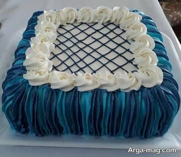 تزیینات عالی کیک با خامه