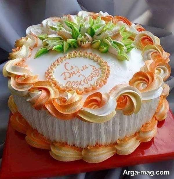 تزیینات خاص کیک با خامه
