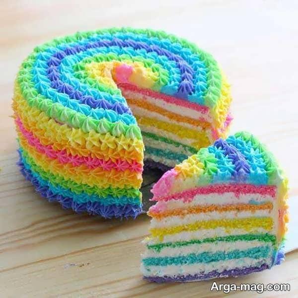 ایده تزیین کیک با خامه