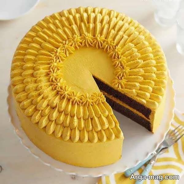 تزیینات کیک با خامه