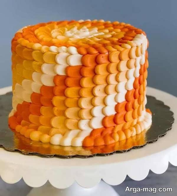 جدیدترین تزیینات کیک با خامه