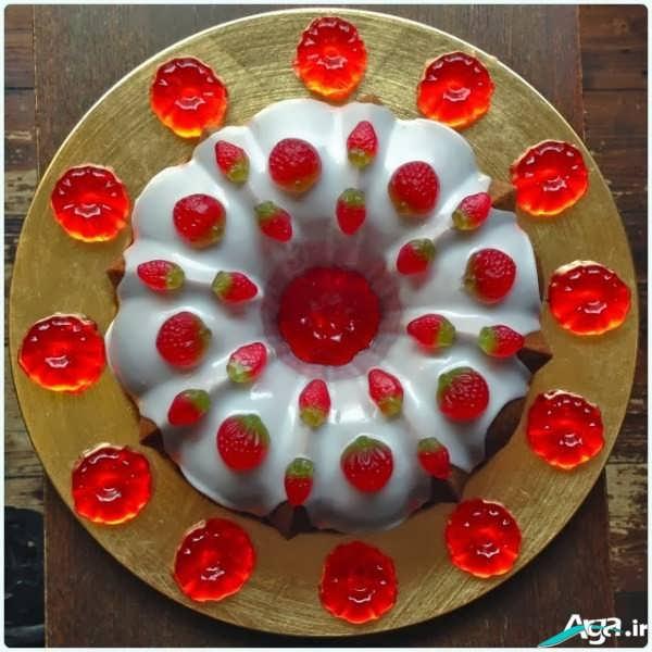 کیک تولد ژله ای
