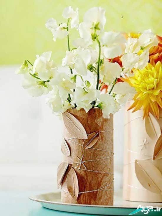 تزیین منزل با گلدان