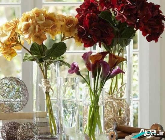 گلدان شیشه ای جدید