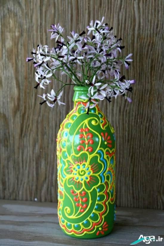 گلدان تزیینی در منزل