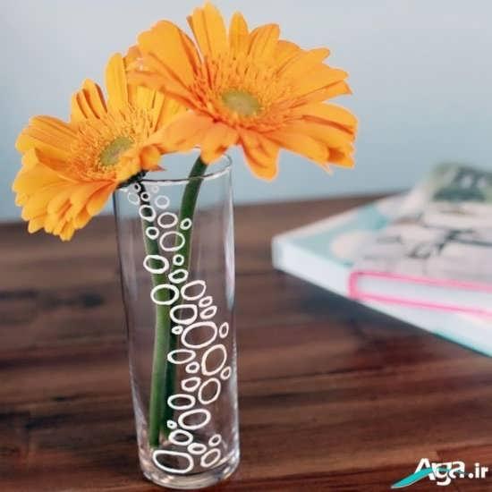 مدل گلدان شیشه ای