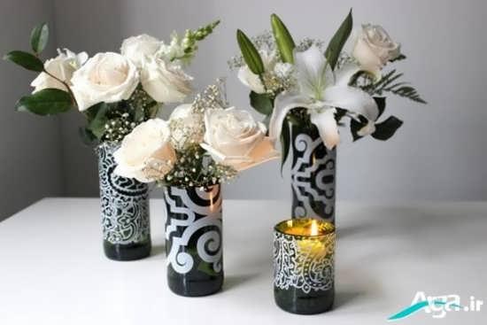 گلدان ششیشه ای