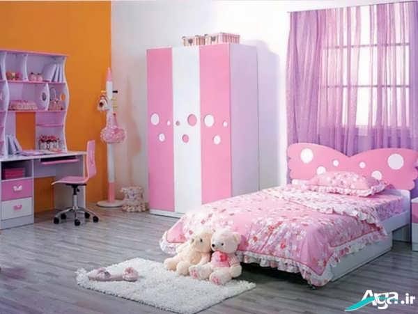 دکوراسیون اتاق دخترانه