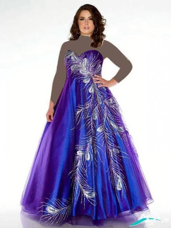 لباس مجلسی با طرحی فوق العاده