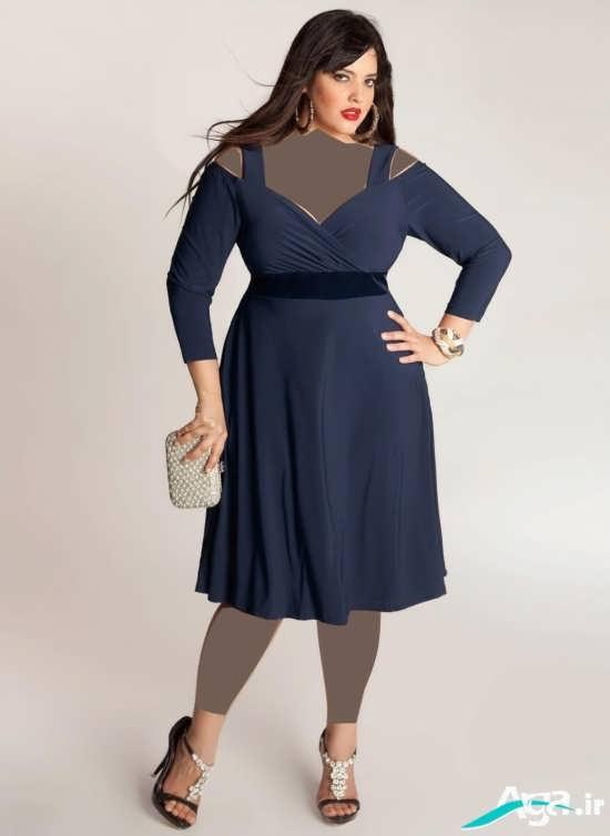 لباس مجلسی زنانه افراد چاق