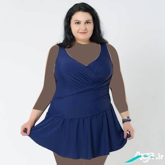 سارافن مجلسی برای خانم های چاق
