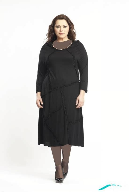 لباس مشکی بسیار جذاب و تیره