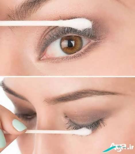اموزش کشیدن خط چشم به صورت مرحله به مرحله