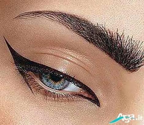 کشیدن خط چشم زیبا