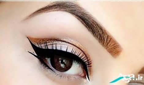 خط چشم مناسب چشم ریز