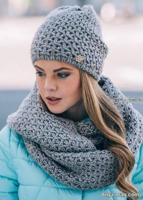 تصاویری از مدل کلاه بافت دخترانه
