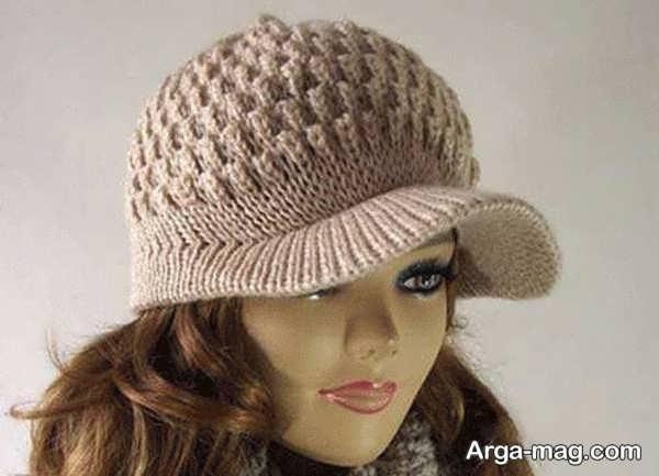 مدل کلاه بافت زیبای دخترانه