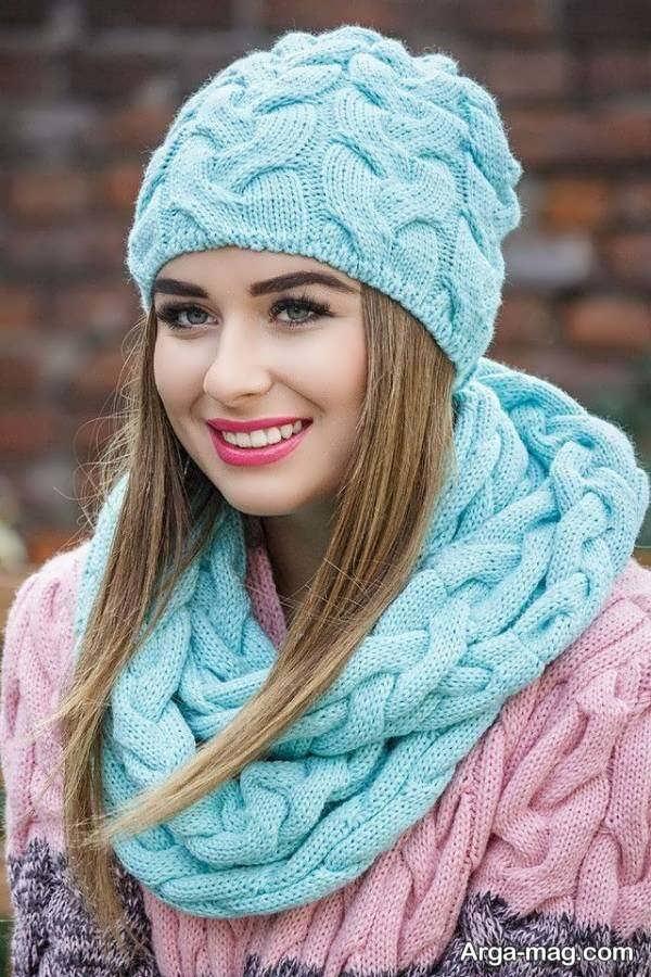 مدل کلاه بافتنی دخترانه جذاب