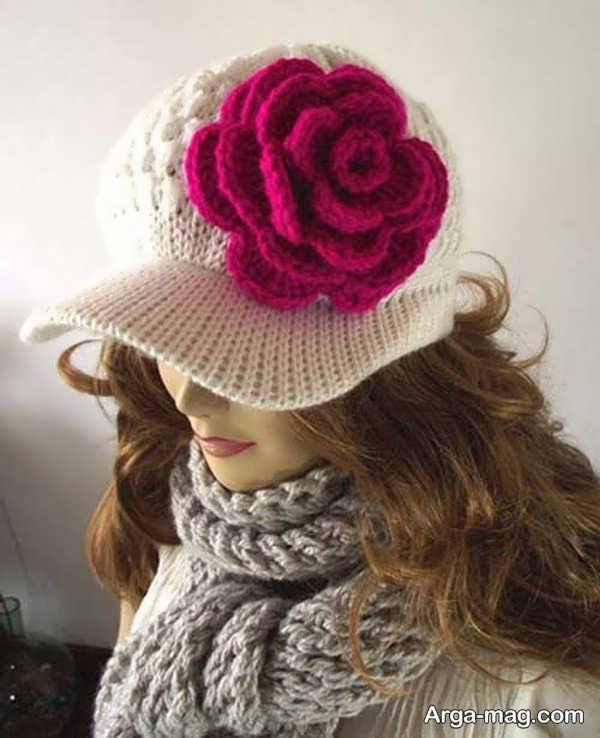 مدل کلاه بافت برای دختران