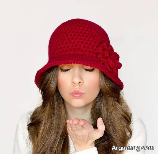 مدل کلاه بافت دخترانه اروپایی