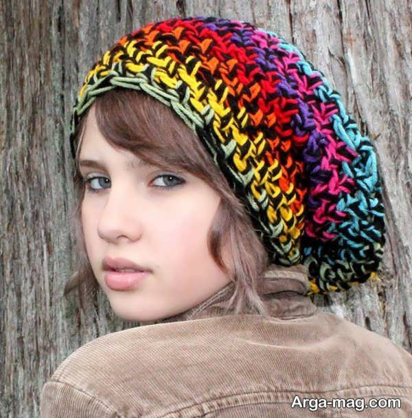 انواع مدل کلاه بافت دخترانه