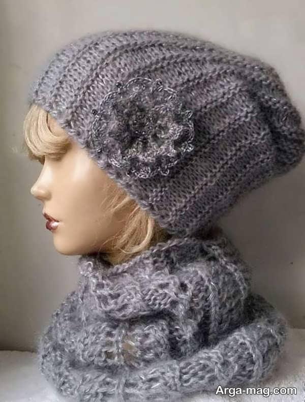 مدل کلاه بافت دخترانه جذاب
