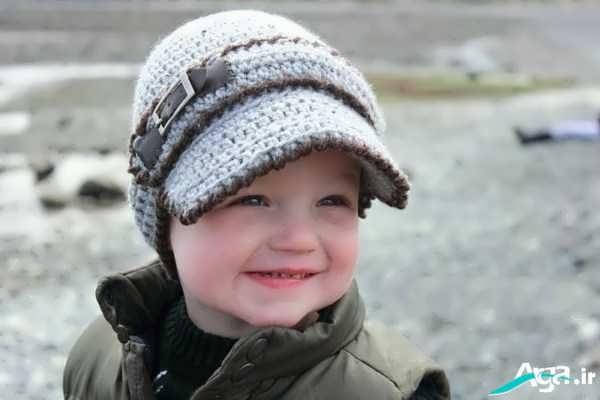 آموزش بافت کلاه پسرانه