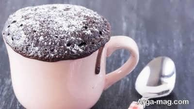 دستور تهیه کیک فنجانی