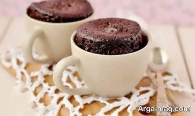 روش ساخت کیک فنجانی