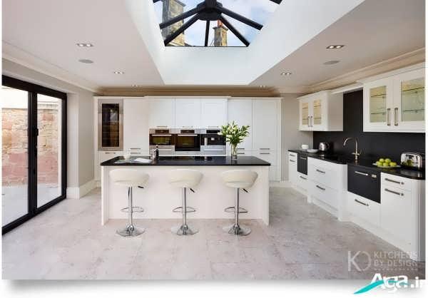 آشپزخانه جدید و مدرن