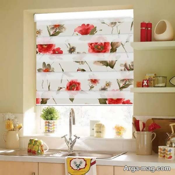 مدلهای پرده زبرا برای آشپزخانه