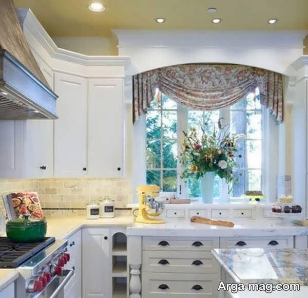 مدلهای متنوع پرده برای آشپزخانه