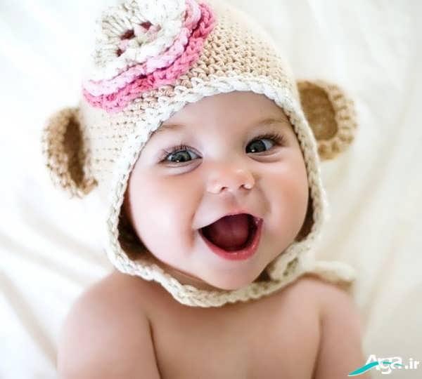 کلاه بافتنی نوزاد