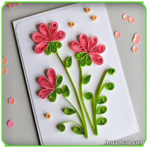 تصاویری از کارت پستال دست ساز