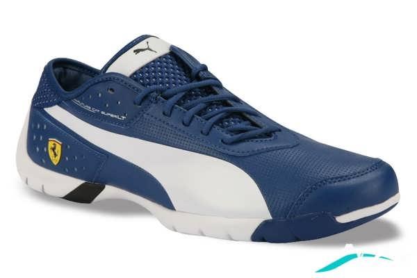 کفش اسپرت مردانه با رنگ آبی تیره