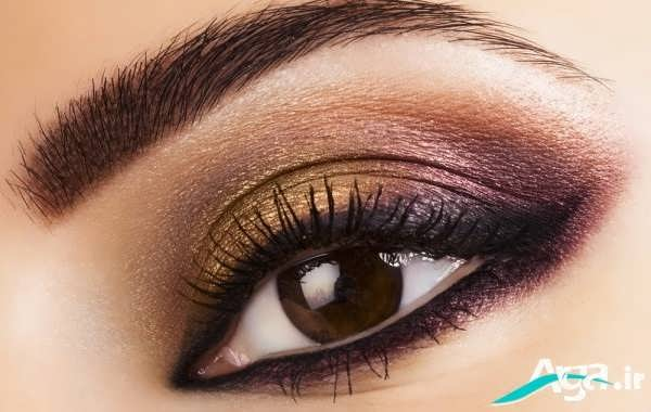 جدیدترین مدل آرایش چشم ریز بسیار زیبا